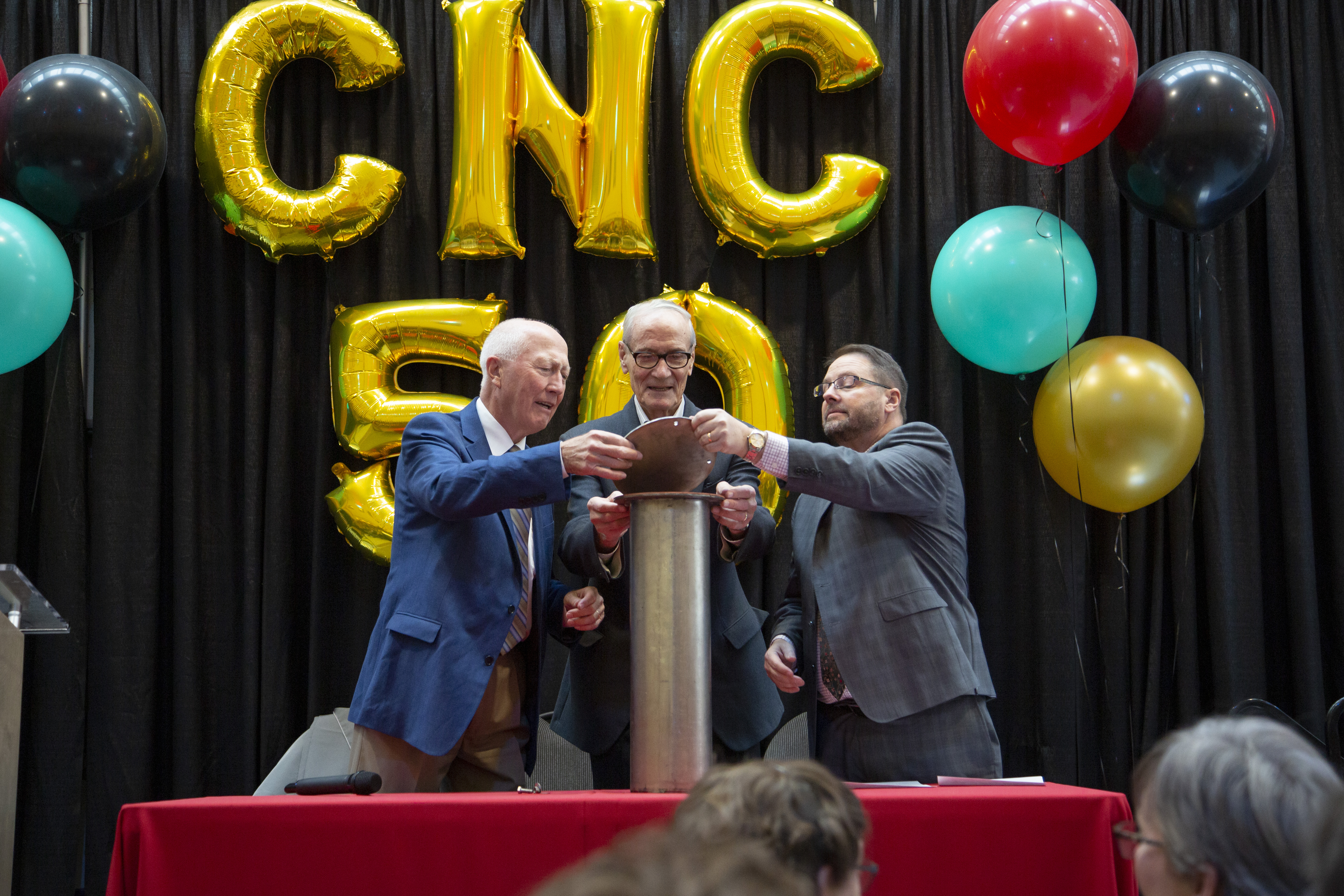 CNC Time Capsule Opening