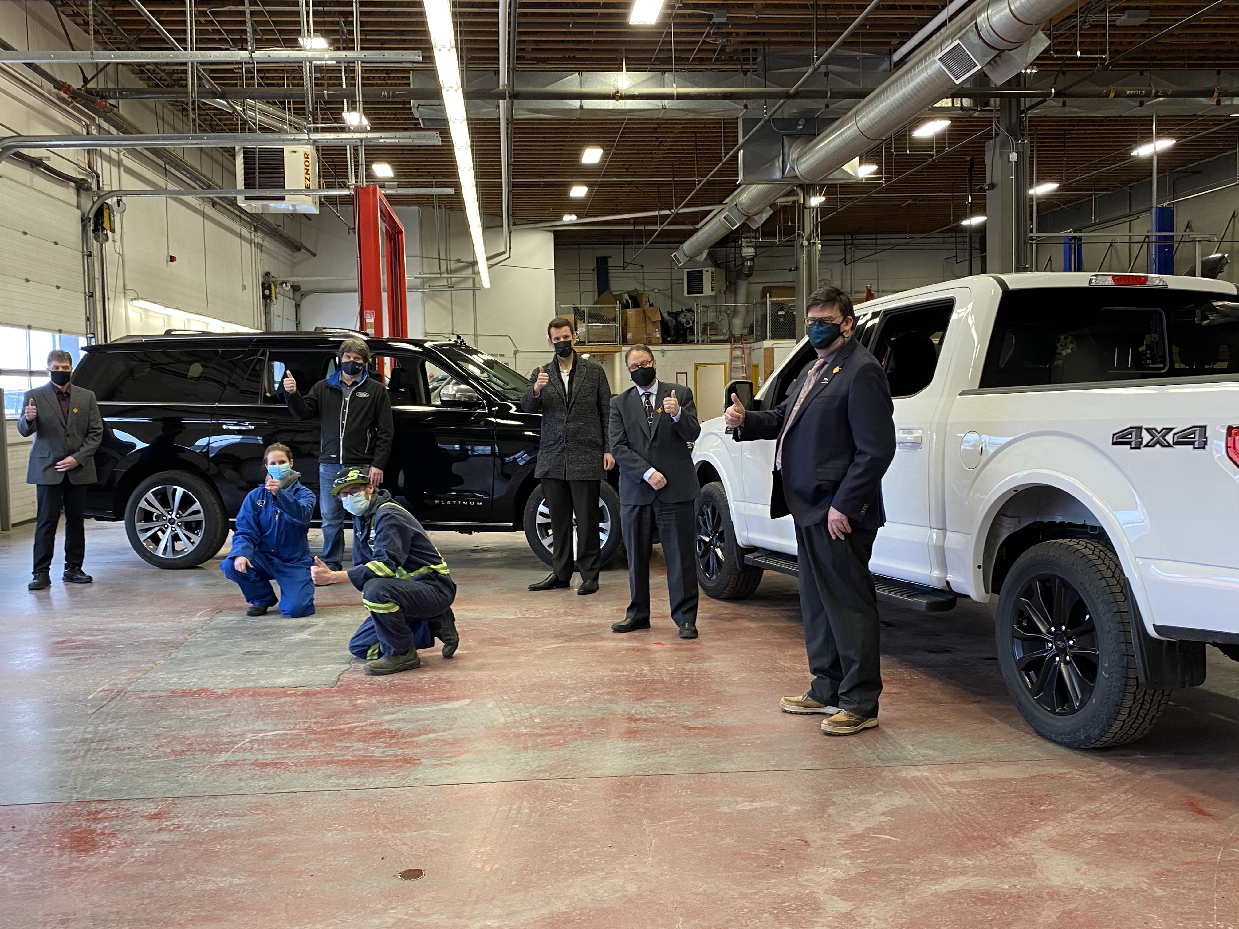 Ford Donation to CNC